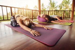 Yoga or Pilates mat