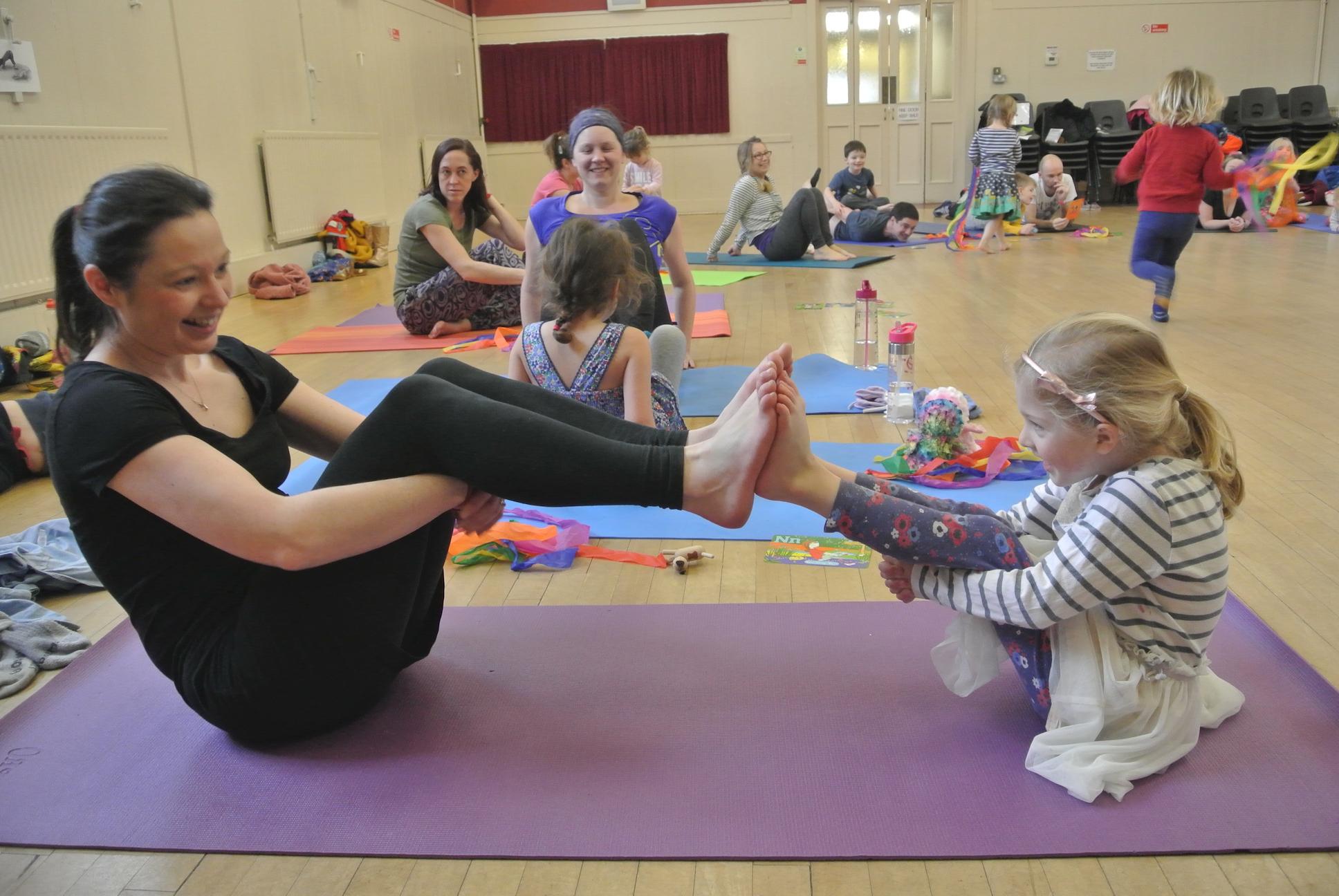 Family yoga Keynsham
